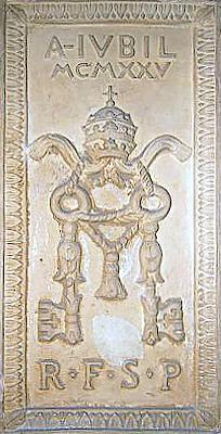mattone porta santa 1925 bis Storia delle Fornaci Giorgi   Antiche Fornaci Giorgi 1735 Ferentino Frosinone