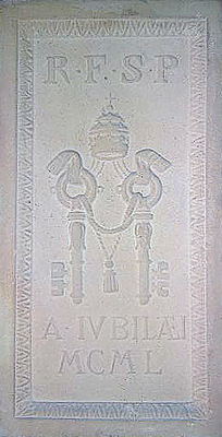 mattone porta santa 1950 Storia delle Fornaci Giorgi   Antiche Fornaci Giorgi 1735 Ferentino Frosinone