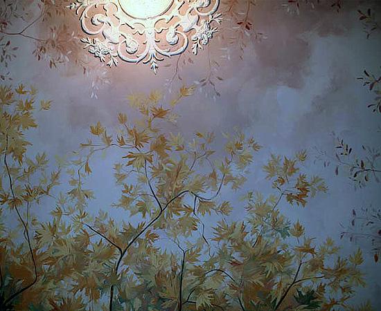Restauro di pitture murali e decori pittorici trompe loeil