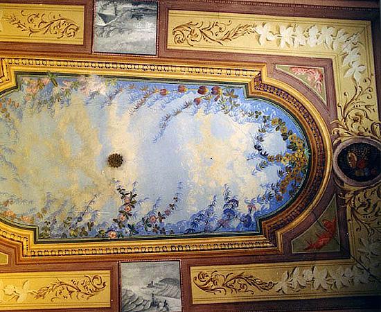 Restauro di pitture murali e decori pittorici trompe l - Decorazioni per soffitti ...