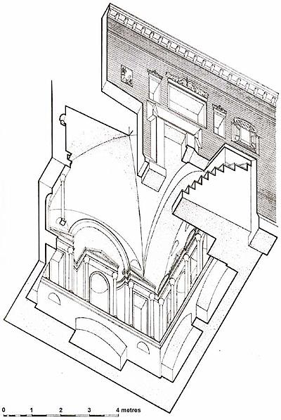 storia necropoli disegno Storia delle Fornaci Giorgi   Antiche Fornaci Giorgi 1735 Ferentino Frosinone